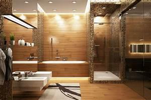 remplacer une baignoire par une douche With carrelage adhesif salle de bain avec mini spot led encastrable pour escalier
