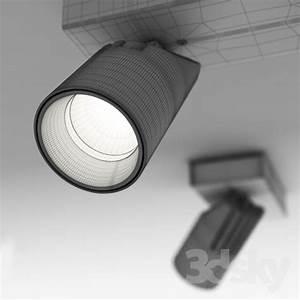 D models spot light delta built overhead