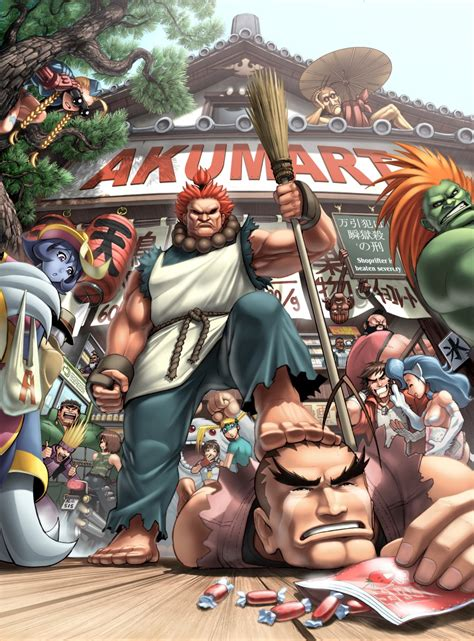Udons Art Of Capcom Cover 2 By Udoncrew On Deviantart
