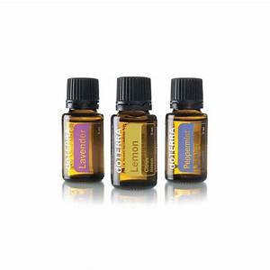 Essential Oils Starter Kit: doTERRA lavender, lemon and ...