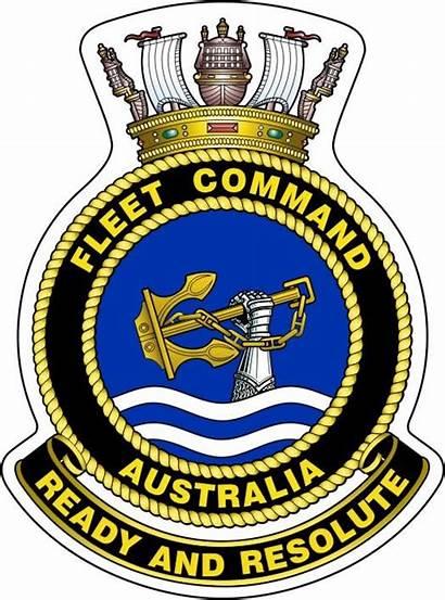 Fleet Command Navy Australian Royal Force Badge