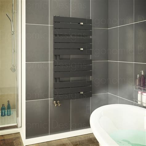 anthracite 1080 x 550 mm flat panel bathroom designer