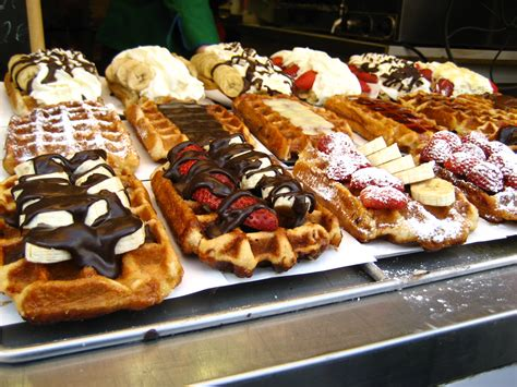 belgian cuisine brussels penn appé what makes a belgian waffle and where