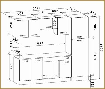 dimension standard meuble de cuisine idees de decoration
