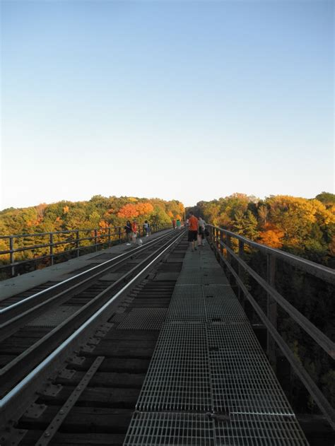 Railroad Bridge Letchworth State Park