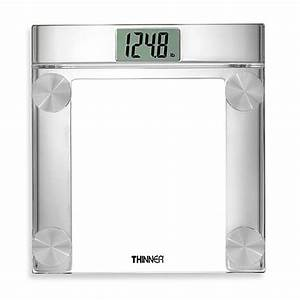 conairr thinnerr digital precision chrome and glass With bathroom scales at bed bath and beyond