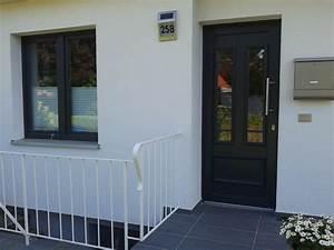 Ral 7016 Fenster : kunststoff haust r und fenster veka 70 mm anthrazitgrau ~ Michelbontemps.com Haus und Dekorationen