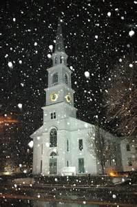 Beautiful Christmas Winter Church Scenes