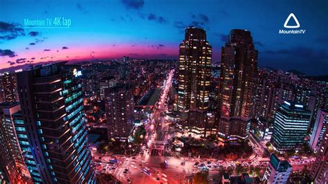 AMAZING Timelapse of SEOUL KANGNAM South Korea (4k UHD