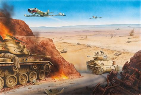 The battle of the Dothan Valley, Samaria, 6 June 1967, Six ...