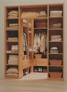 Dressing Bois Massif : lundia le mobilier modulable dressing armoire penderie ~ Louise-bijoux.com Idées de Décoration