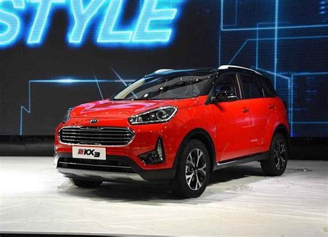 Suv 20182019 Kia Kx3  Unscheduled Restyling  Cars News
