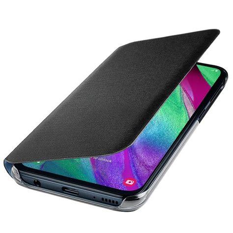 Samsung Galaxy A40 Wallet Cover EF-WA405PBEGWW