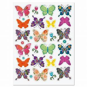 Floral Butterfly Stickers Current Catalog