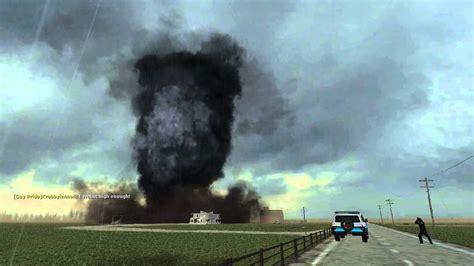 GMOD Storm Chasers: Air Ship vs. Tornado - YouTube