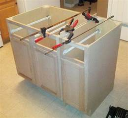 how to build a kitchen island with cabinets how to make a diy kitchen island and install in your kitchen removeandreplace