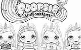 Unicorn Coloring Slime Surprise Poopsie Pages Poosie Cute Unicorns Filminspector Some Downloadable Very They sketch template