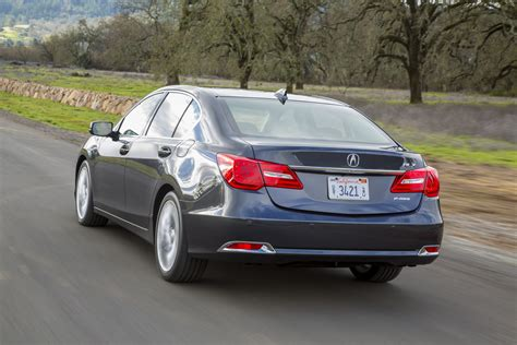 acura rlx offers  features  base model