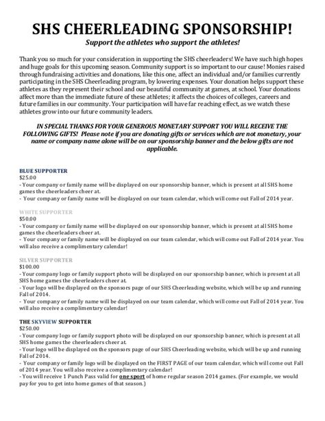 donation request letter for school sponsorship letter