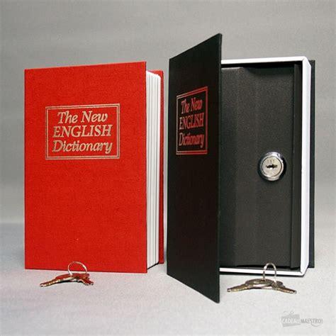 coffre fort petit livre cadeau maestro