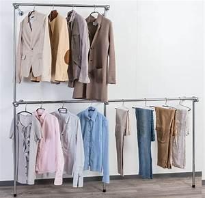 Kleiderstange Wandmontage Dachschräge : begehbarer kleiderschrank dachschr ge kleiderstange ~ Lizthompson.info Haus und Dekorationen