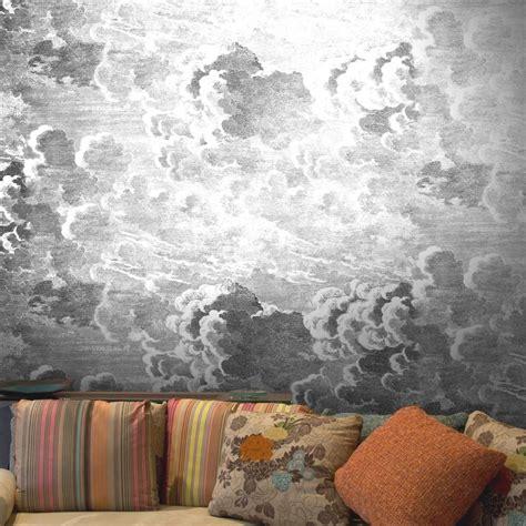 nuvolette  cole son black white wallpaper direct