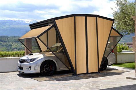 Garage Mobile Per Auto by 用來停車的溫室 多功能透明車庫概念超吸睛 自由電子報汽車頻道