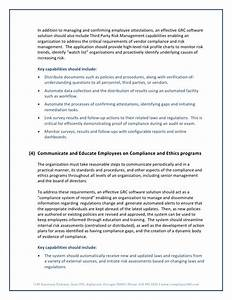 Seven Elements Of Effective Compliance Programs
