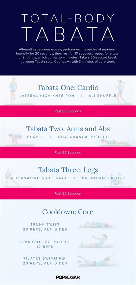 20-Minute Tabata Workout   POPSUGAR Fitness Photo 2