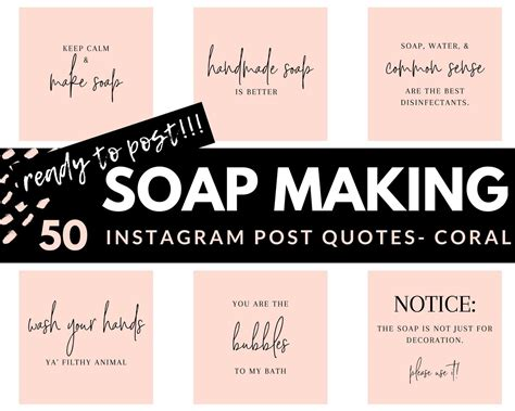 soap making instagram posts  ready  post handcrafted