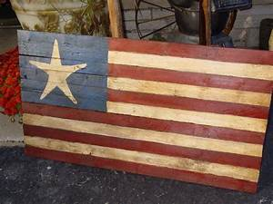 rustic star garden fence great american flag wood 33 x 18 With kitchen colors with white cabinets with american flag outdoor wall art