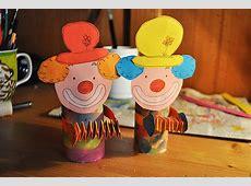 Ich bastel einen Clown! So einfach geht's! Bilder