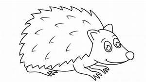 Simple Hedgehog Drawing | www.pixshark.com - Images ...