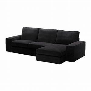 Canapé Chez Ikea : canap kivik noir 1049 chez ikea photo de mobilier et accessoir d co chez nous ~ Teatrodelosmanantiales.com Idées de Décoration
