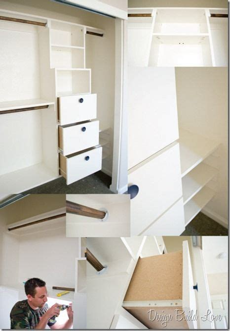 Closet Remodel Diy by 50 Handmade Closet Kit Tutorial Day 4 30 Days To An