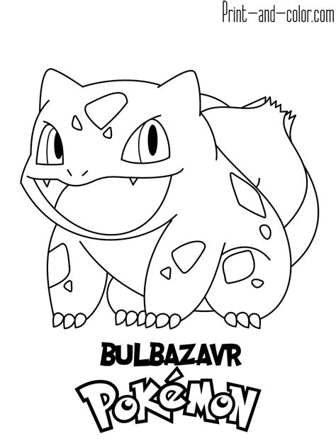 pokemon coloring pages print  colorcom