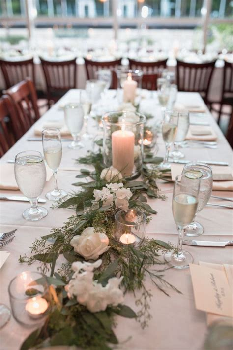 best 25 wedding table garland ideas on pinterest