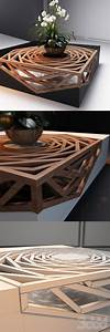 Gorgeous, Design, Wood, Coffee, Table