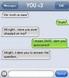 Text Message Truth or Dare