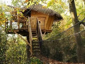 Liste de weekends insolites, cabane dans les arbres