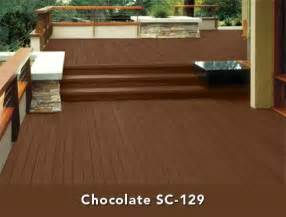 behr semi transparent stain in chocolate color story
