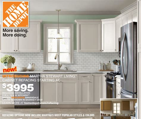 martha stewart kitchen cabinets reviews martha stewart cabinet refacing