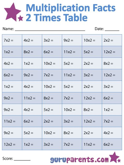 2 times table worksheet free coloring pages of 2 times table