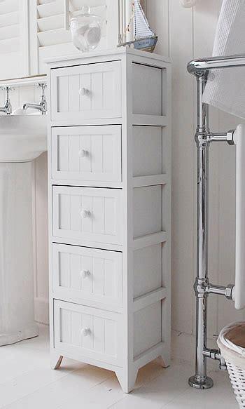 skinny cabinet with drawers maine narrow tall freestanding bathroom cabinet with 5