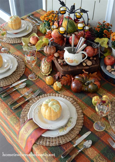 Fall At The Table Plymouth Dinnerware  Home Is Where The
