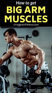 Want To Get Bigger Arms  Use This Arm Workout To Build Muscle Faster   Fitness  Health  Slim