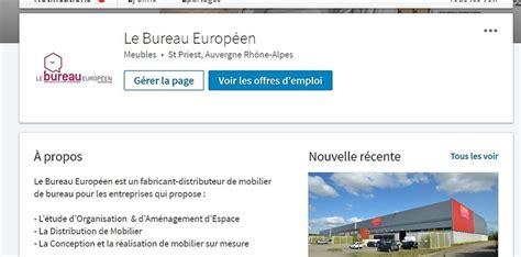 le bureau européen sur linkedin docsourcing