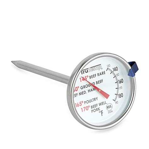 thermom鑼re cuisine trutemp cooking thermometer bed bath beyond