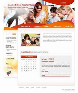 Download a Free Wordpress Theme for School Teachers