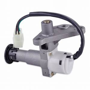Moped Scooter Ignition Key Switch Lock Fits 50